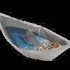 Βάρκα Μικρό Γλυπτό από τον Γλύπτη Στέλιο Γαβαλά στον Εικαστικό Κύκλο Sianti