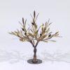 Olive Tree Small Sculpture by the Sculptor Aggelos Panagiotidis at Ikastikos Kiklos Sianti Gallery.