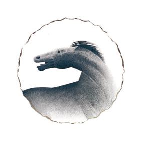 Άλογο Μεταξοτυπία του Σωτήρη Σόρογκα στον Εικαστικό Κύκλο Sianti