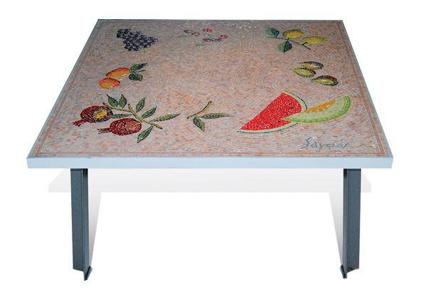Τραπέζι Ψηφιδωτό από τον Καλλιτέχνη Παύλο Σάμιο