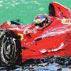 Formula 1 Ζωγραφικό Έργο από τη Μίνα Παπαθεοδώρου-Βαλυράκη στον Εικαστικό Κύκλο Sianti