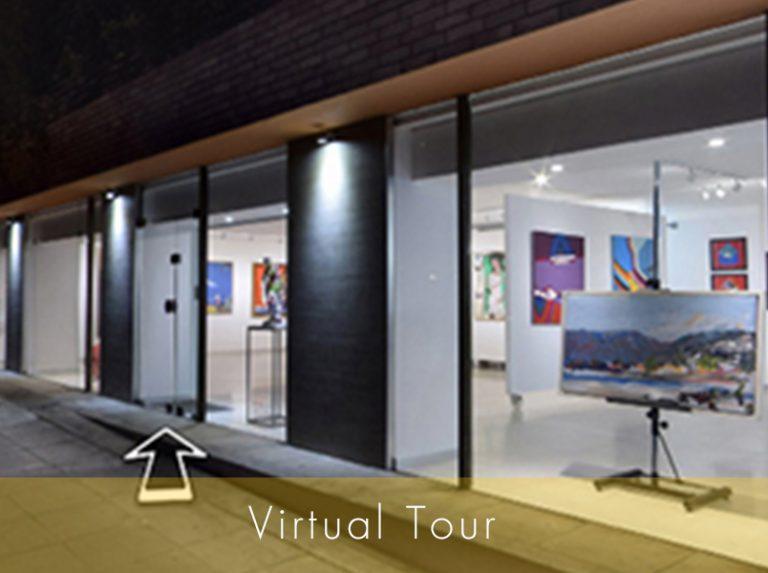 Εικονική Περιήγηση Virtual Tour στη gallery του Εικαστικού Κύκλου Sianti