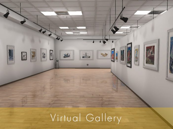 Virtual Gallery Εικονική Αίθουσα τέχνης από τον Εικαστικό Κύκλο Sianti