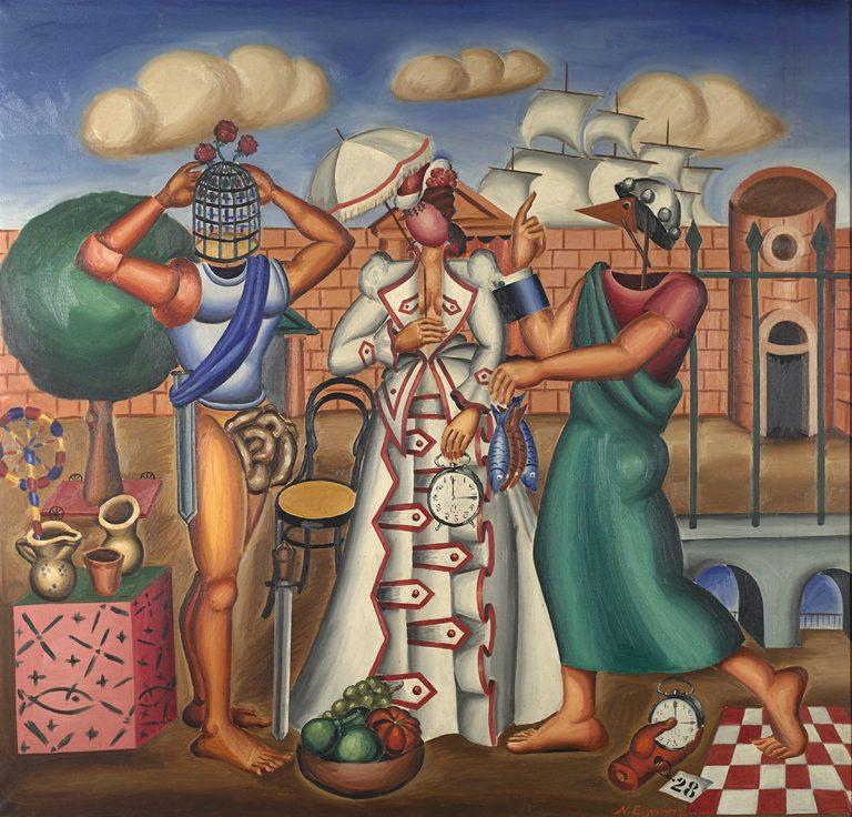 Αφιέρωμα στο Νίκο Εγγονόπουλο στο Μουσείο Σύγχρονης Τέχνης της Άνδρου