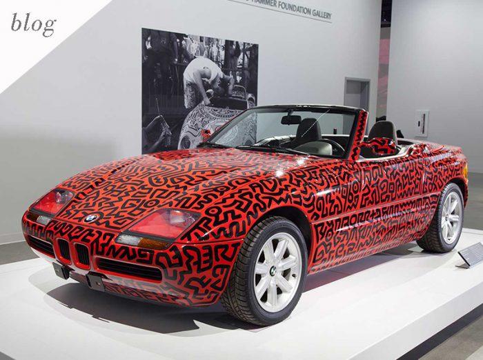 Μερικοί από τους διασημότερους ζωγράφους μεταμορφώνουν ένα αυτοκίνητο σε έργο τέχνης