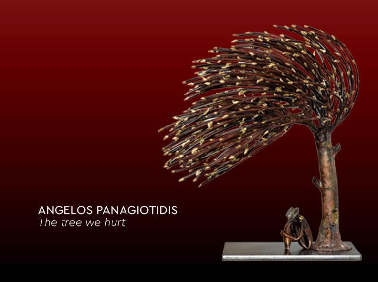 Angelos Panagiotidis 'The tree we hurt' at Ikastikos Kiklos Sianti Gallery