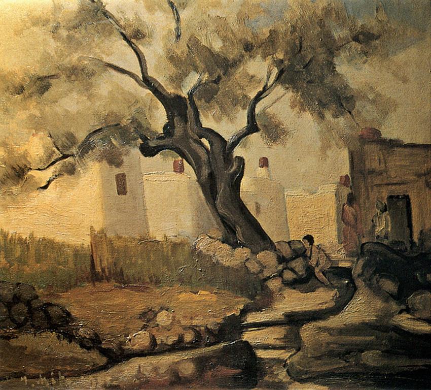 Γιάννης Μηταράκης, Ελιά στη Χίο, 1937