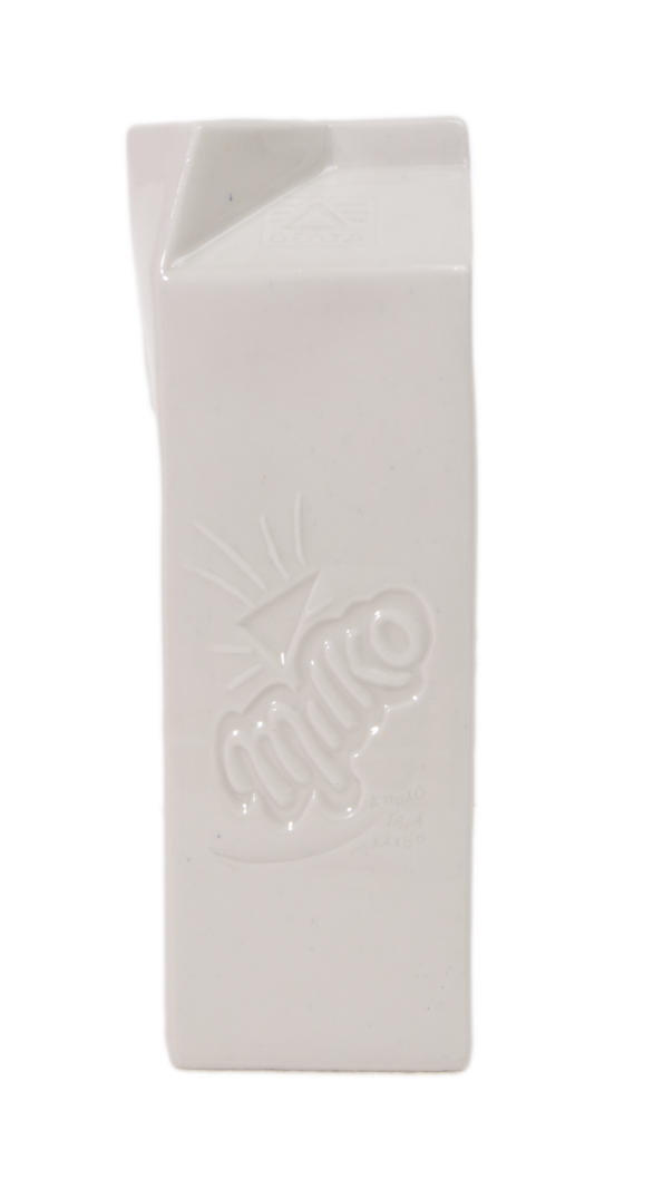 Γάλα Milko Μικρό Γλυπτό από την Χριστίνα Μόραλη στον Εικαστικό Κύκλο