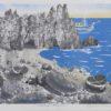Ακτή του Αιγαίου Λιθογραφία του Κώστα Γραμματόπουλου στον Εικαστικό Κύκλο Sianti
