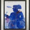 Μπλε Ποδηλάτης Ζωγραφικό Έργο του Αλέκου Φασιανού στον Εικαστικό Κύκλο Sianti