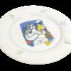 Πιάτο Πορσελάνη από τον Βασίλη Σπεράντζα στον Εικαστικό Κύκλο Sianti