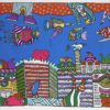 Hotel Survivors Ζωγραφικό Έργο του Θανάση Λάλα στον Εικαστικό Κύκλο Sianti