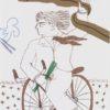 Ποδηλάτης με Φουλάρι Μεταξοτυπία του Αλέκου Φασιανού στον Εικαστικό Κύκλο