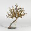 Olive Tree Sculpture by Aggelos Panagiotidis at Ikastikos Kiklos Sianti Gallery