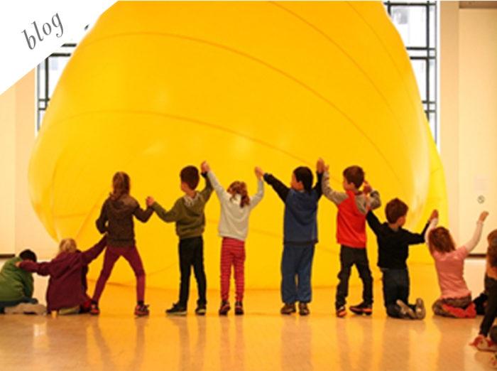 Art Educational Programs for Kids at Ikastikos Kiklos Sianti Gallery