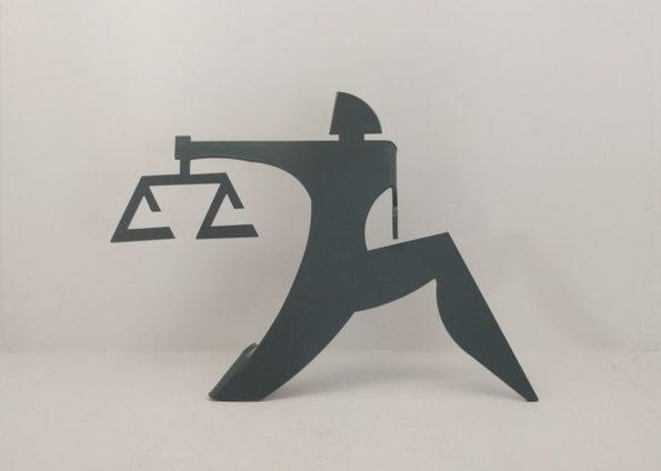 Ζυγός Μικρογλυπτική από τον Δημήτρη Βλάσση στον Εικαστικό Κύκλο