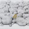 Πέτρες με Κίτρινο Λουλούδι Ζωγραφικό Έργο του Σωτήρη Σόρογκα στον Εικαστικό Κύκλο Sianti