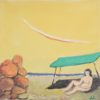 Beach Painting by Dimosthenis Kokkinidis at Ikastikos Kiklos Sianti Gallery