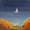 The Ship's Line Painting by Dimosthenis Kokkinidis at Ikastikos Kiklos Sianti Gallery