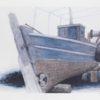 Παλιά Βάρκα Μεταξοτυπία του Σωτήρη Σόρογκα στον Εικαστικό Κύκλο Sianti