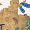 Καβαλάρης Μεταξοτυπία από τον Αλέκο Φασιανό στον Εικαστικό Κύκλο Sianti Gallery