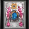 The Twins Ζωγραφικό Έργο από την Λίλα Μπελιβανάκη στον Εικαστικό Κύκλο Sianti Gallery