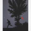 Κόκκινο Φεγγάρι Μεταξοτυπία από τον Δημήτρη Γέρο στον Εικαστικό Κύκλο Sianti