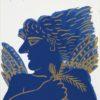 φασιανός-αλέκος-μπλε-νέος-μεταξοτυπία