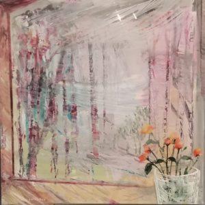 Window-to-Spring-Ζωγραφικό-Έργο-Παναγιώτη-Σιάγκρη