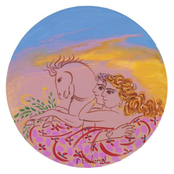 Ζευγάρι με Άλογο